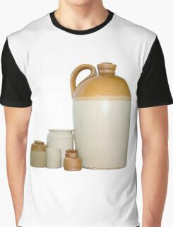 Earthenware Flagon and Pots Graphic T-Shirt