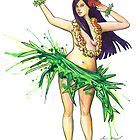 Hula Girl by SamNagel