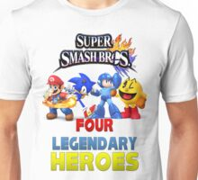 Super Smash Bros Four Legendary Heroes Unisex T-Shirt