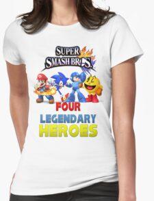 Super Smash Bros Four Legendary Heroes T-Shirt
