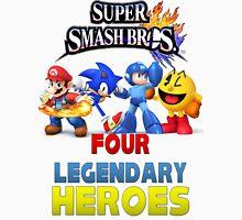 Super Smash Bros Four Legendary Heroes Unisex T-Shirt