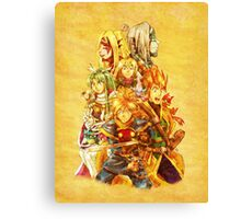 Golden Sun - Book One Canvas Print