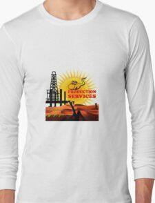 Oil Production Dervices Long Sleeve T-Shirt