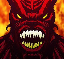Demon Inferno by tonywicks