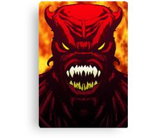 Demon Inferno Canvas Print