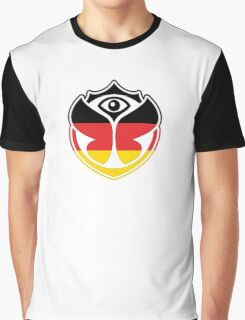 Tomorrowland Germany logo - Deutschland - German - deutsch Graphic T-Shirt