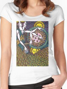 untitled (colour) Women's Fitted Scoop T-Shirt