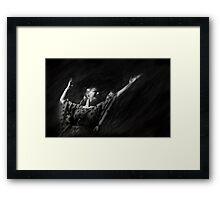 Passion of flamenco I Framed Print