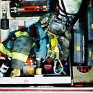 Fire Engine Gear by Susan Savad