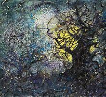 Tree Finally Captures Moon by SuzanneShepherd