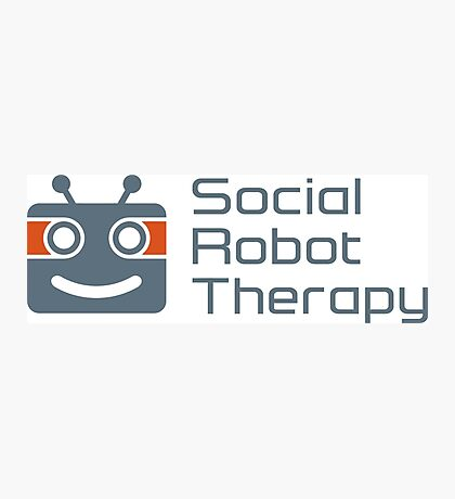 Social Robot Therapy Photographic Print