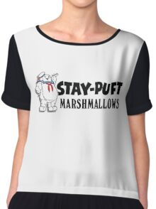 Ghostbusters - Stay Puft Marshmallows  Chiffon Top
