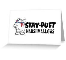 Ghostbusters - Stay Puft Marshmallows  Greeting Card