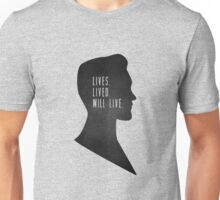 Lives Lived Will Live Unisex T-Shirt