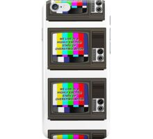 Videodrome  iPhone Case/Skin