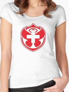 Tomorrowland Swiss logo - Switzerland - Suisse - Schweiz - svizzera Women's Fitted Scoop T-Shirt