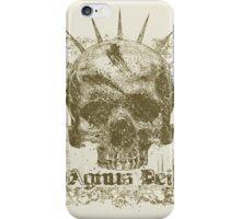 Skull 2 Agnus Dei iPhone Case/Skin