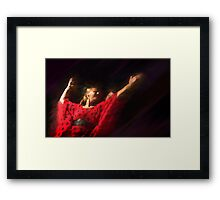 Passion of flamenco II Framed Print
