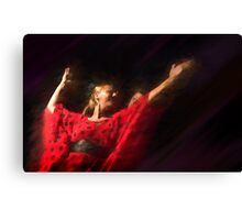 Passion of flamenco II Canvas Print