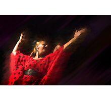 Passion of flamenco II Photographic Print
