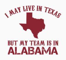 Bama Fan in Texas by jacksboston