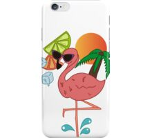 Flamingo party iPhone Case/Skin