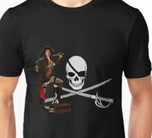 Pirate Punk Pinup Unisex T-Shirt