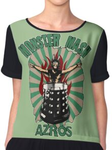 Monster Mash Chiffon Top