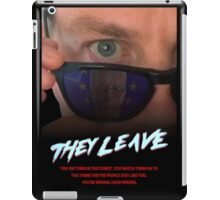 They Leave iPad Case/Skin