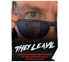 They Leave Poster