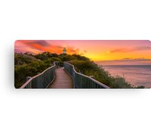 Sunrise at Cape Tourville Metal Print