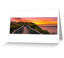 Sunrise at Cape Tourville Greeting Card