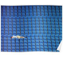 Asleep in the Blue Seats Poster