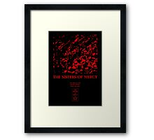 The Sisters of Mercy - No Time To Cry Framed Print
