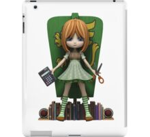Mel is one smart cookie iPad Case/Skin