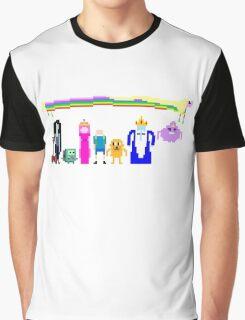 8 BIT ADVENTURE Graphic T-Shirt