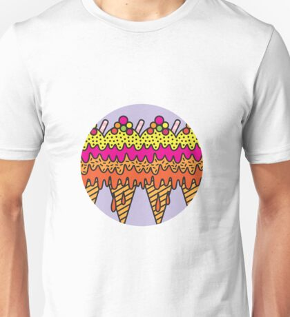 Mega Ice Cream Cone Unisex T-Shirt
