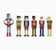 Captain Planet and the Pixelteers by Jesse Andrew Tilley