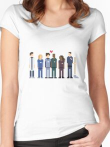 Everybody's Favorite Doctors. Women's Fitted Scoop T-Shirt