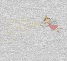 Whimsical Magic Fairy Princess Sprinkles One Piece - Long Sleeve
