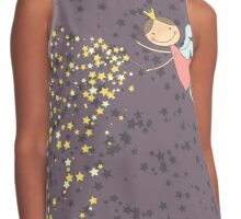 Whimsical Magic Fairy Princess Sprinkles Contrast Tank