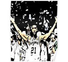 Tim Duncan Winning Poster