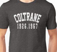 coltrane (white) Unisex T-Shirt