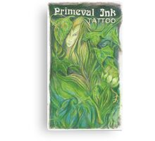 Primeval Ink Tattoo Elf Girl Canvas Print