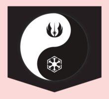 Jedi Yin and Sith Yang Baby Tee