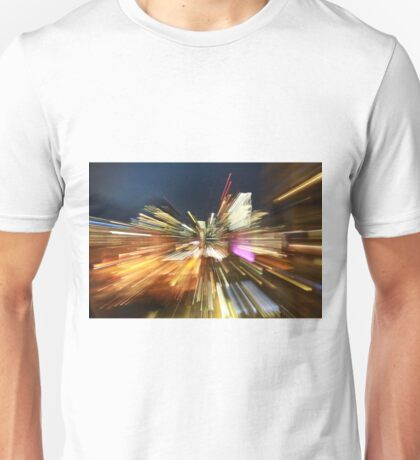 Light trails of Brisbane Unisex T-Shirt