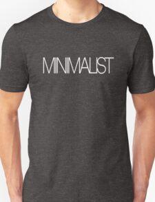 minimalist (white) Unisex T-Shirt
