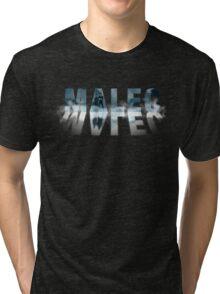 Malec - Shadowhunters - Fog Tri-blend T-Shirt