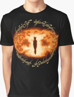 Sauron -- One Ring Graphic T-Shirt
