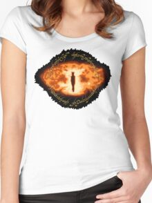 Sauron -- One Ring Women's Fitted Scoop T-Shirt